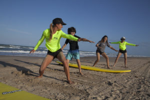 Surfing lessons for beginners south padre island